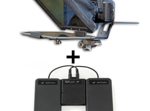 Pédales Airturn et Prompteur iPad