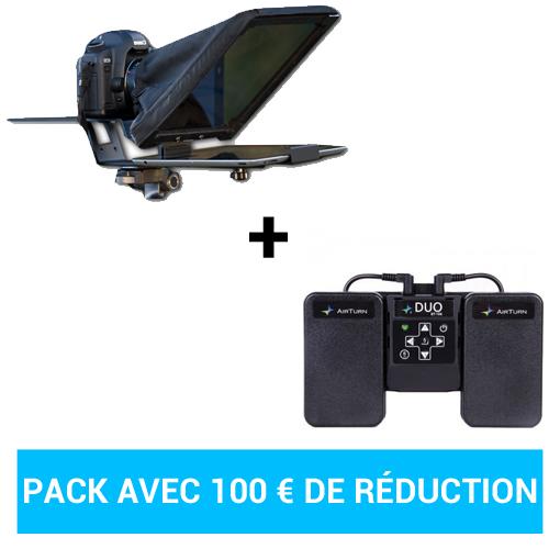 Pack Prompteur iPad + Pédales de controle Airturn Bluetooth